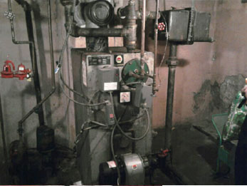 Existing Boiler #2 Before Removal