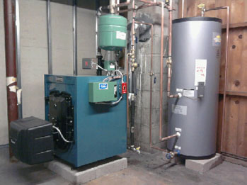 Existing Boiler #2 After Replacement