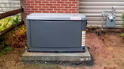 Installation: Generator