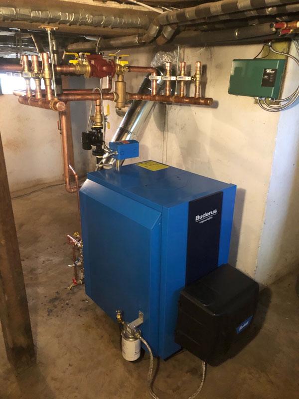 Residential Buderus Boiler Installation - 1