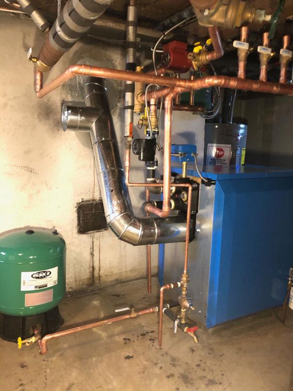 Residential Buderus Boiler Installation - 2