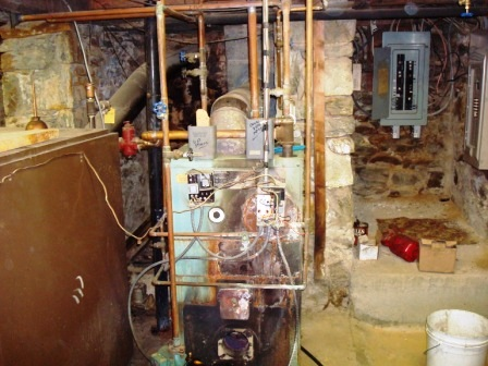 Existing Boiler #3 Before Removal