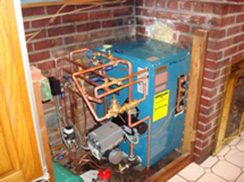 Existing Boiler #1 After Replacement