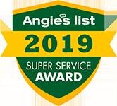 Angie's List - Super Service Award Winner 2009-2020