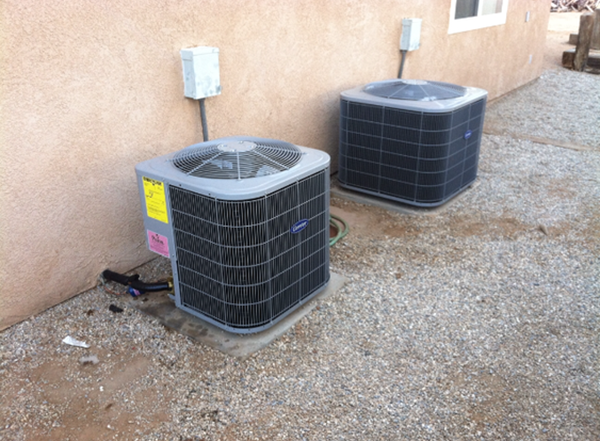 Dual Air Conditioner Installation