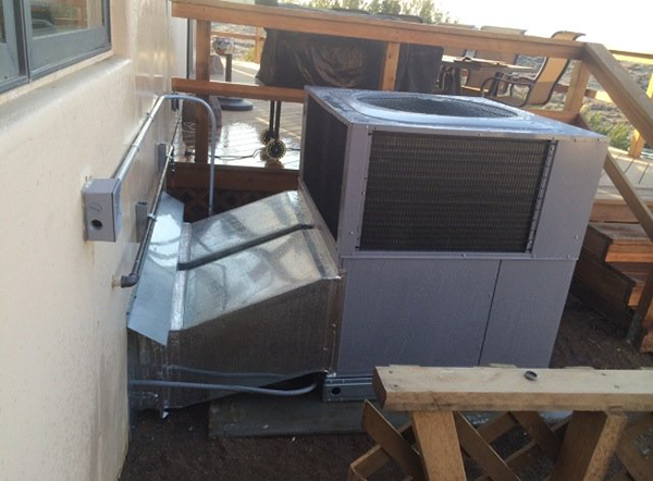 Packaged Unit HVAC System Installation