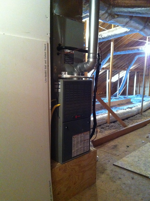 After - Furnace and Coil Installation