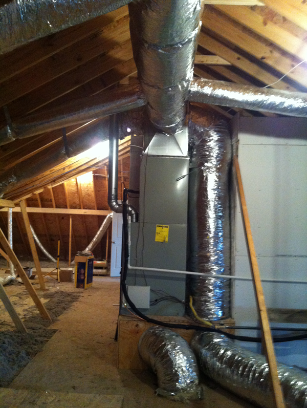 After - New Ductwork