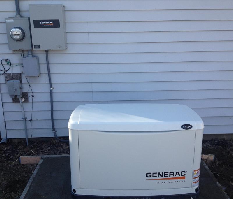 Install - 14KW Generac Generator