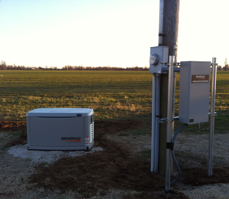 Install - 17KW Generac Generator with Transfer Switch