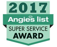 Angie's List Super Service Award & Honor Roll 2009-2017