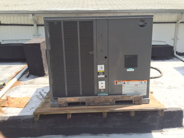 Commercial Rooftop Packaged Unit