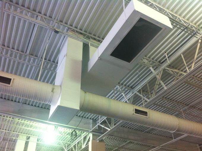 Commercial HVAC Ductwork