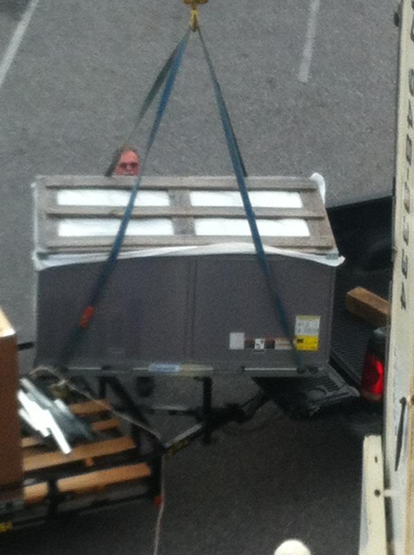 Rooftop Unit Lift
