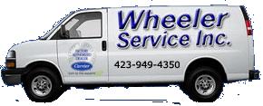 Wheeler's Company Van