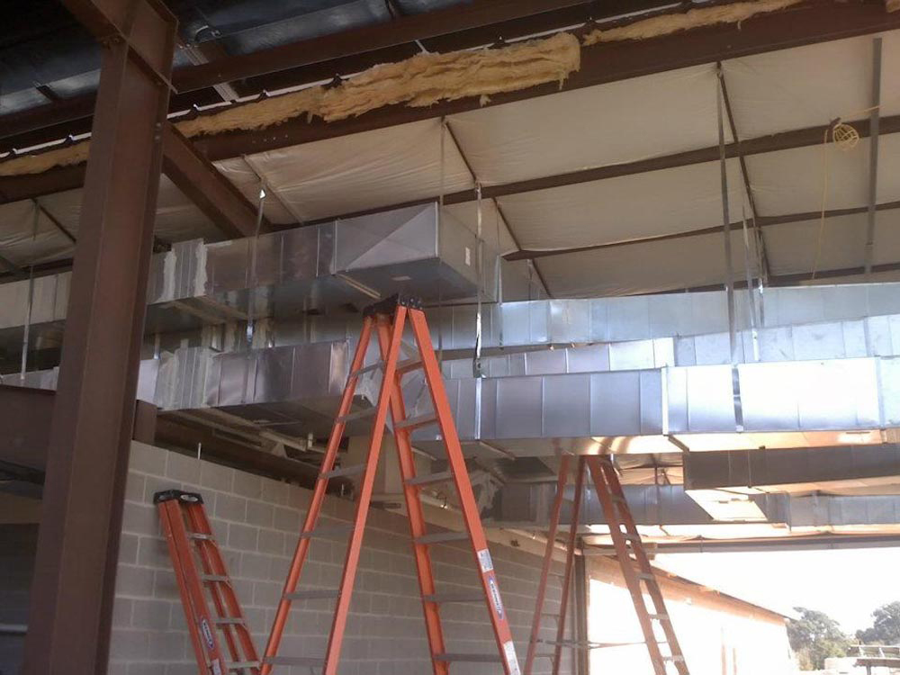 Custom Sheet Metal Ductwork