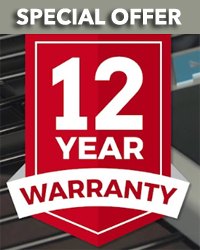 12 Year Warranty Special Offer