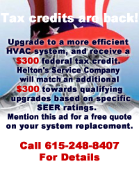 Tax Credit Promo
