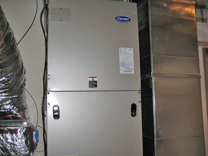 New Carrier Furnace Installation by Blue Ridge Heating and Air Conditioning