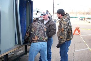 David, Kevin, and Tex
