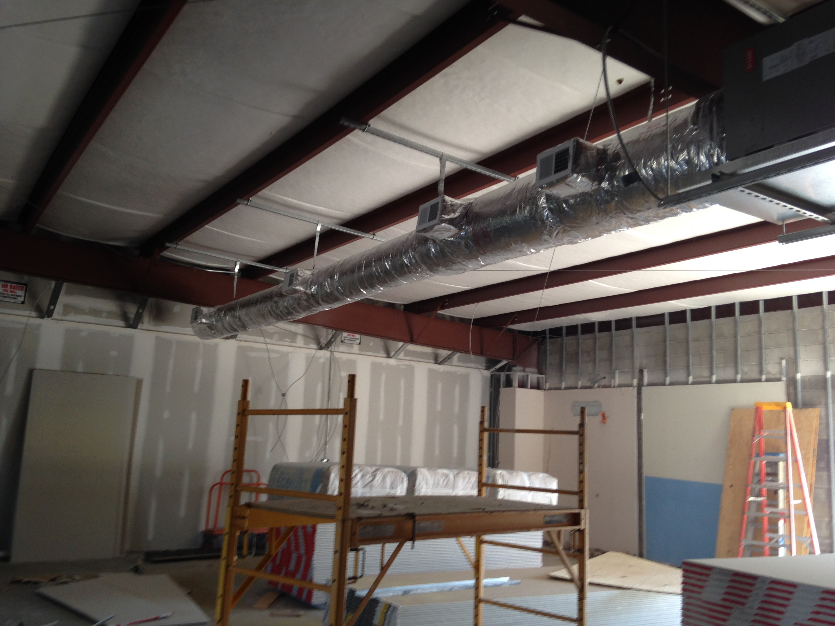 Commercial Duct Installation 2