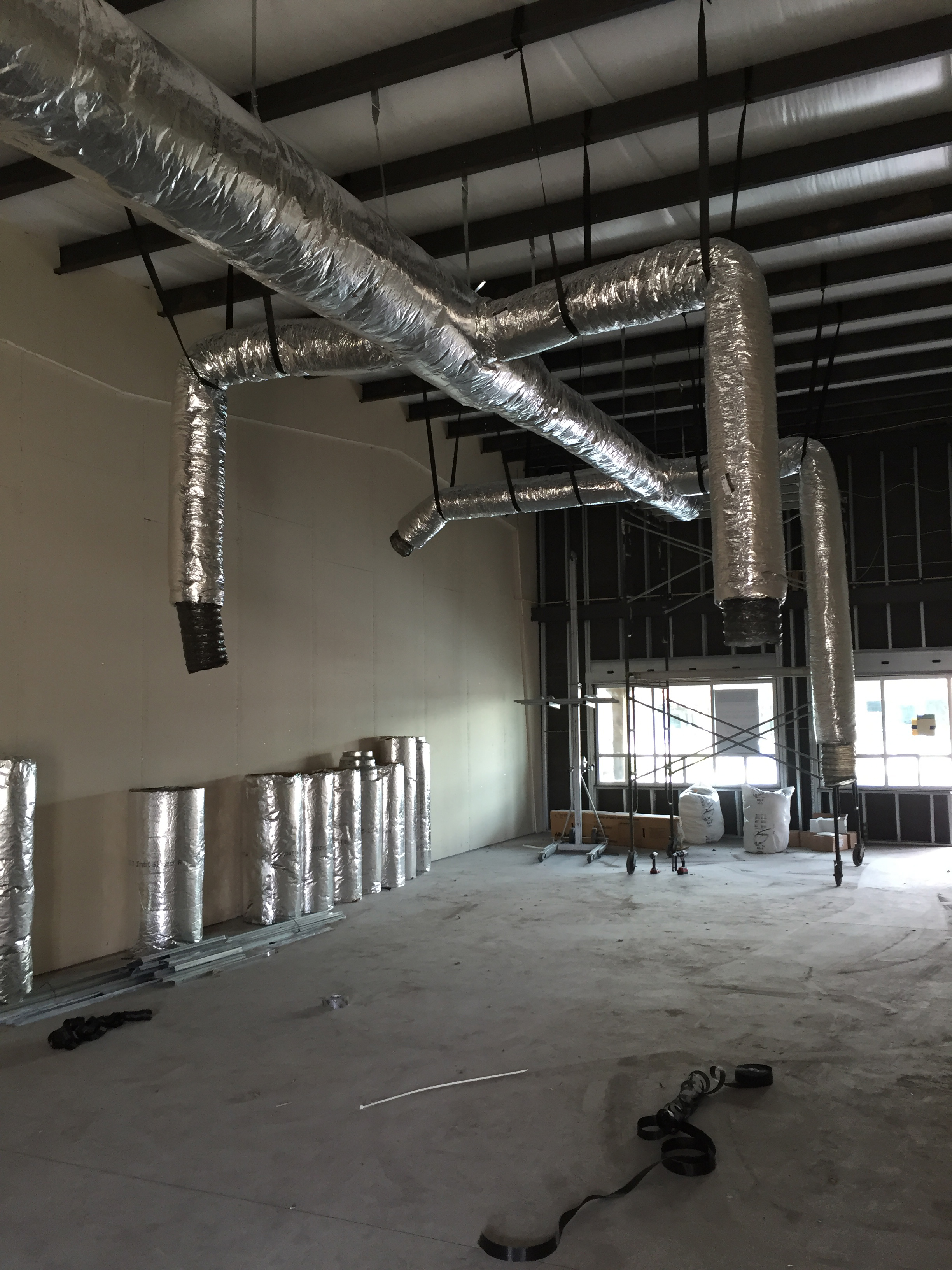 Commercial Duct Installation 1