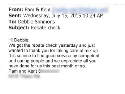 Pam and Kent S. review