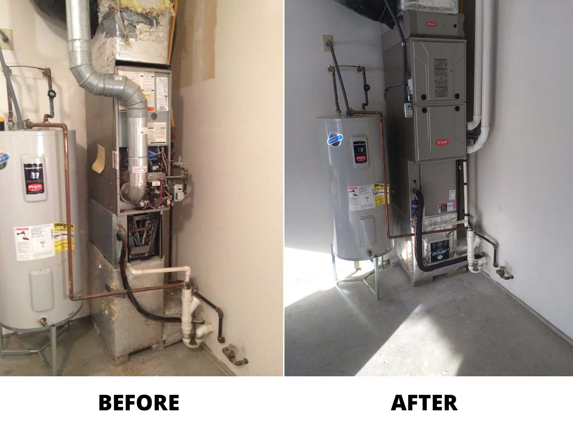 Evolution Gas Furnace with Whole House Purification System