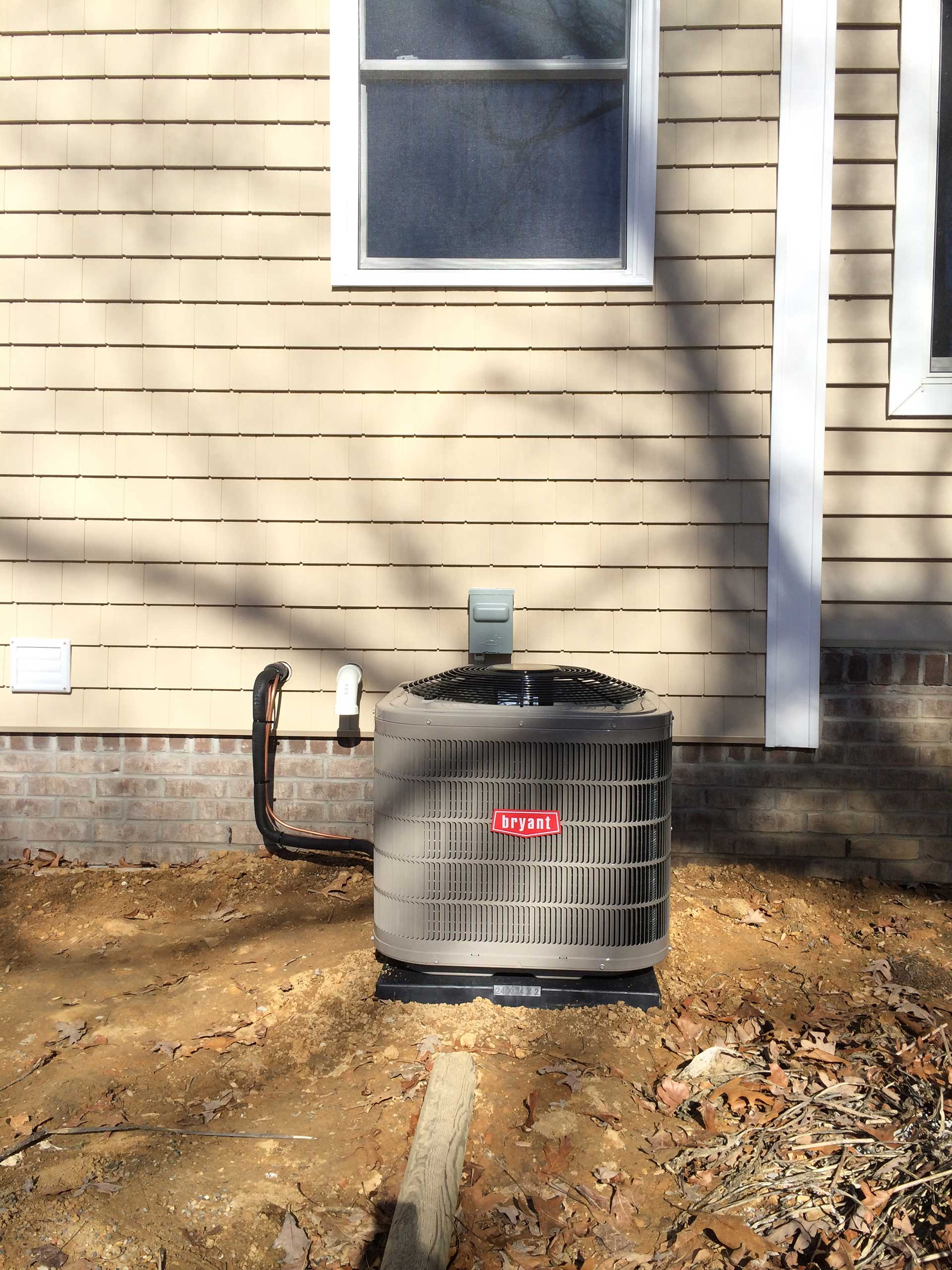 New Construction Gas Furnace 95 and Upgraded 13 SEER AC - Outdoor Unit