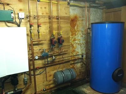 Buderus Water Heater