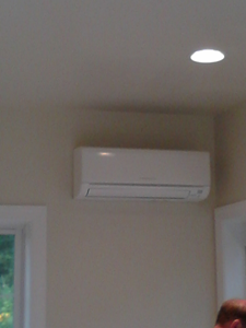 Mitsubishi Ductless (indoor unit)