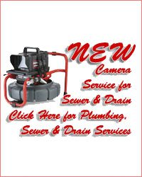 NEW Camera Service For Sewer and Drain