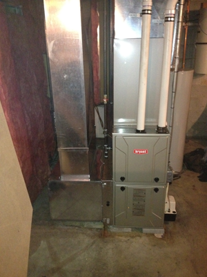 New Furnace Installation #2 - After