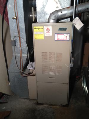 New Furnace Installation #2 - Before