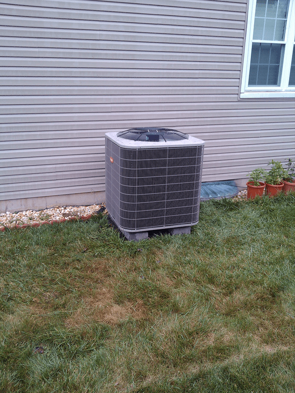 New unit installation after