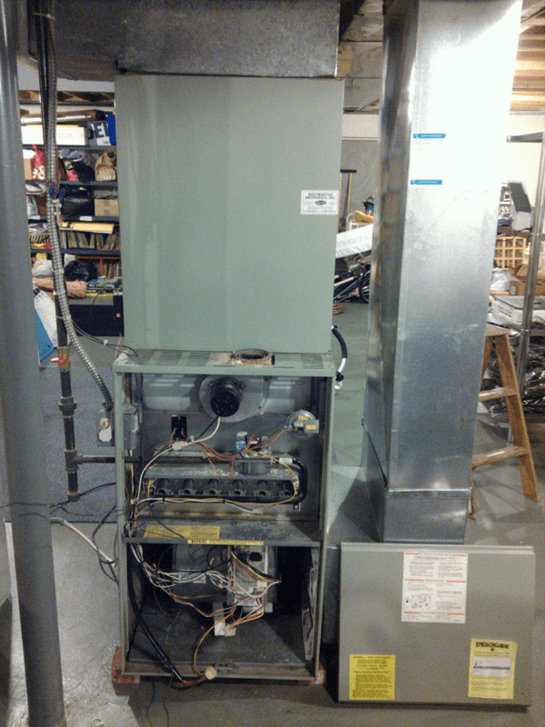 Furnace before picture