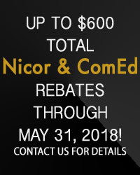 Nicor & ComEd Rebates