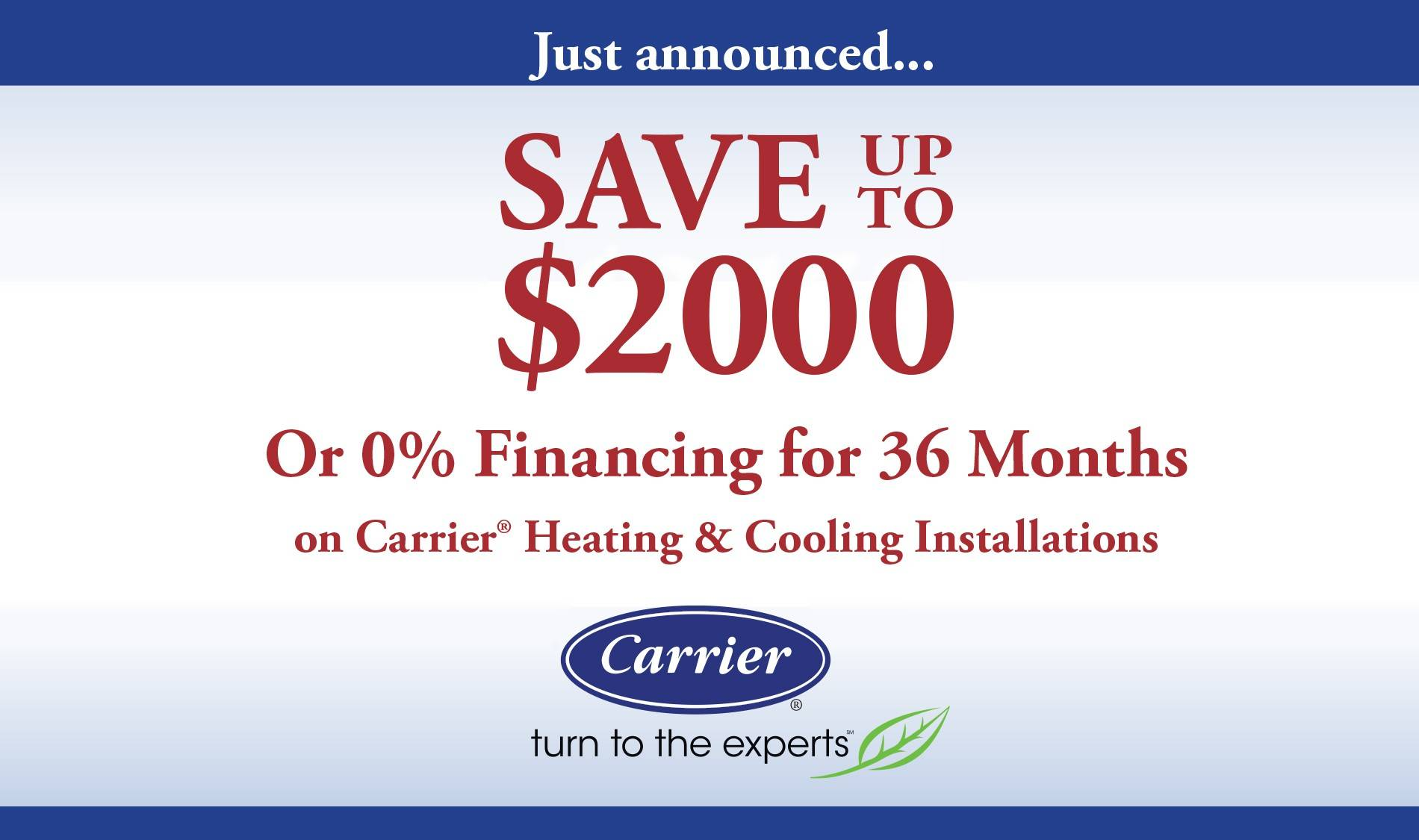 save up to $2000