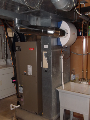 Bryant Gas Furnace Installation