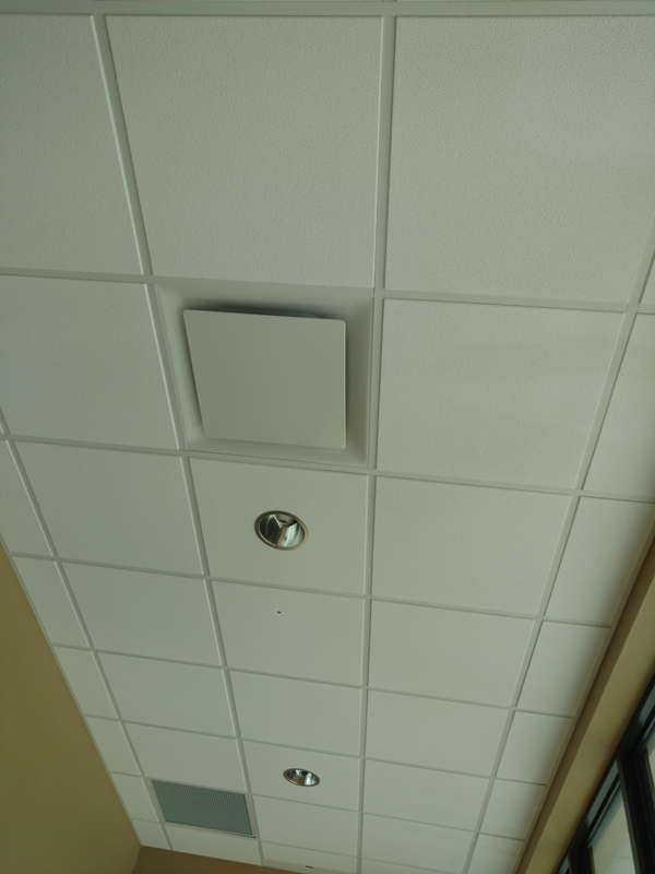 Inside Ceiling Vents Commercial Installation - FCB
