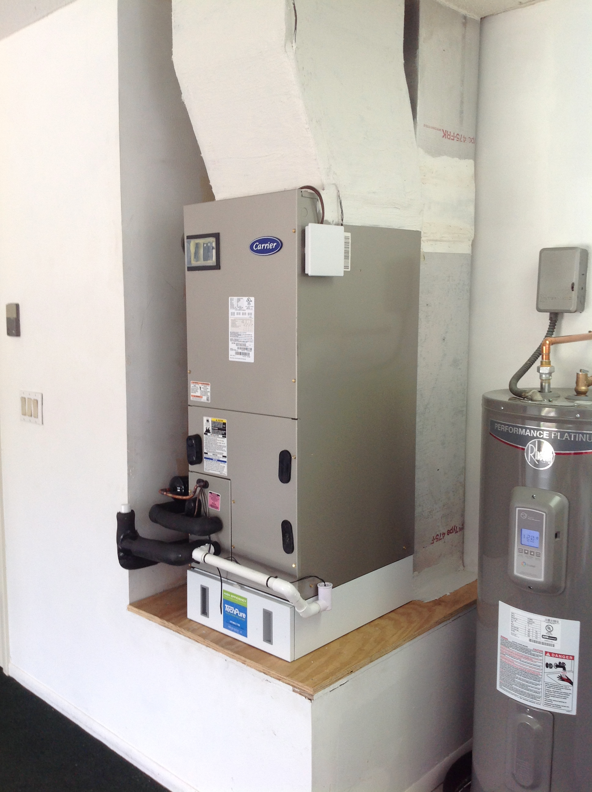 Air Handler W/ Media Air Cleaner