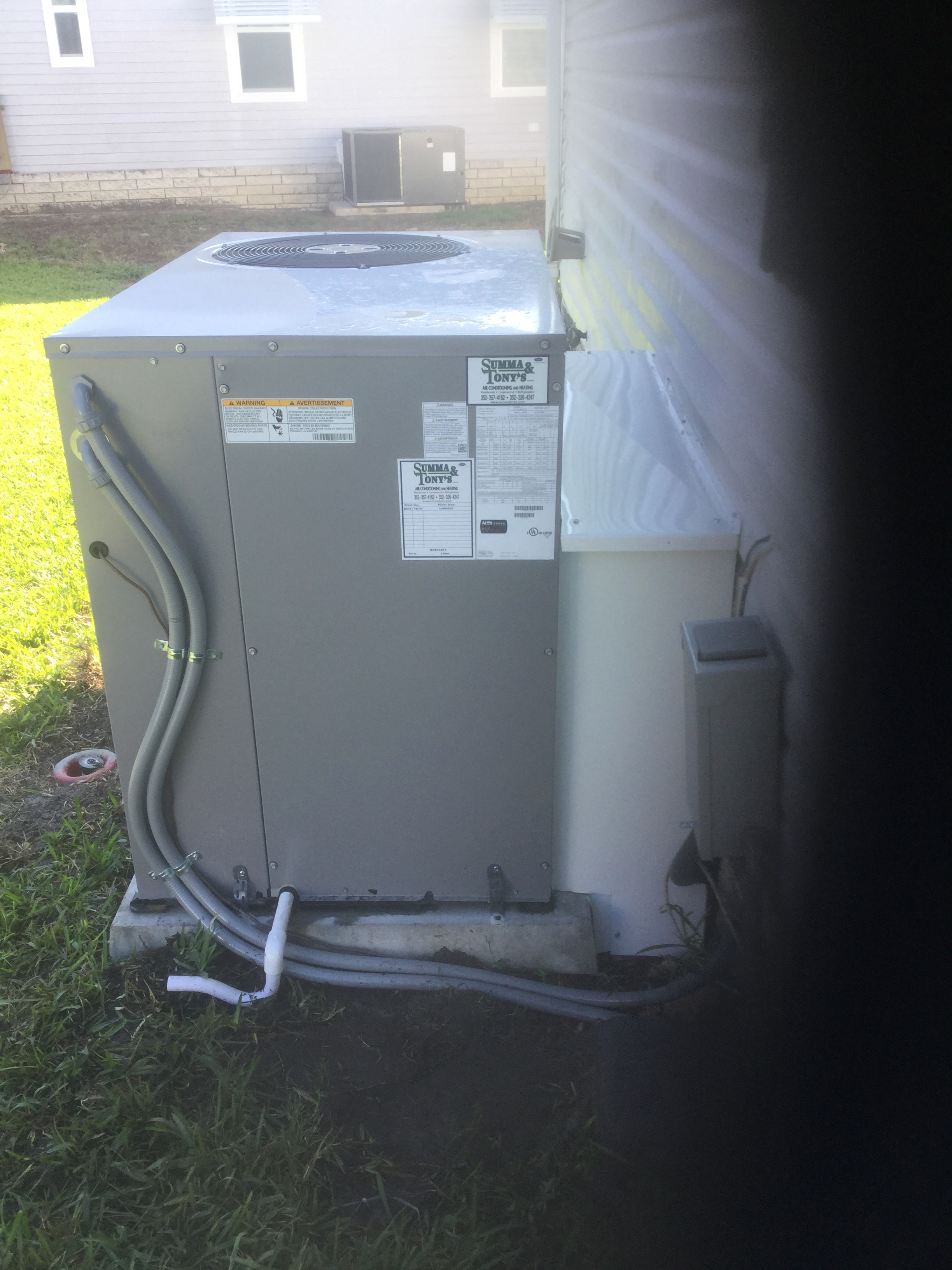 Comfort Series Packaged Unit Installation