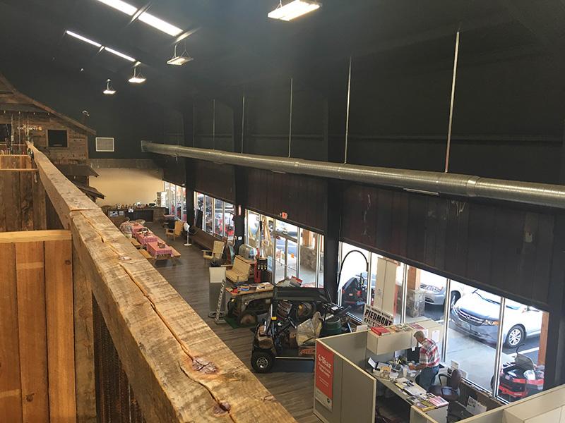 Piedmont Tractor Indoor