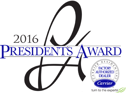 Carrier President's Award Dealer logo