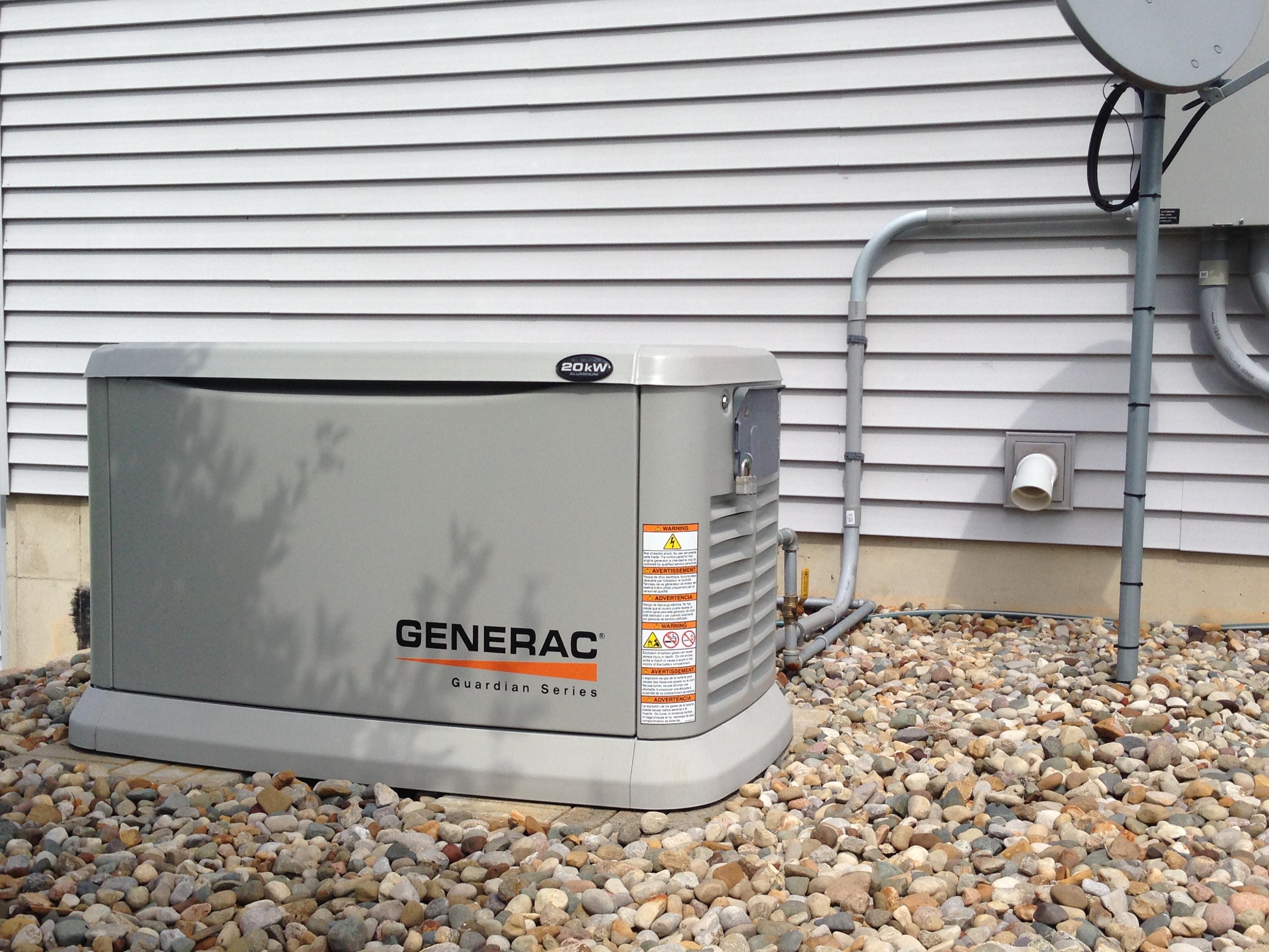 Generac Standby Power Generator Installation
