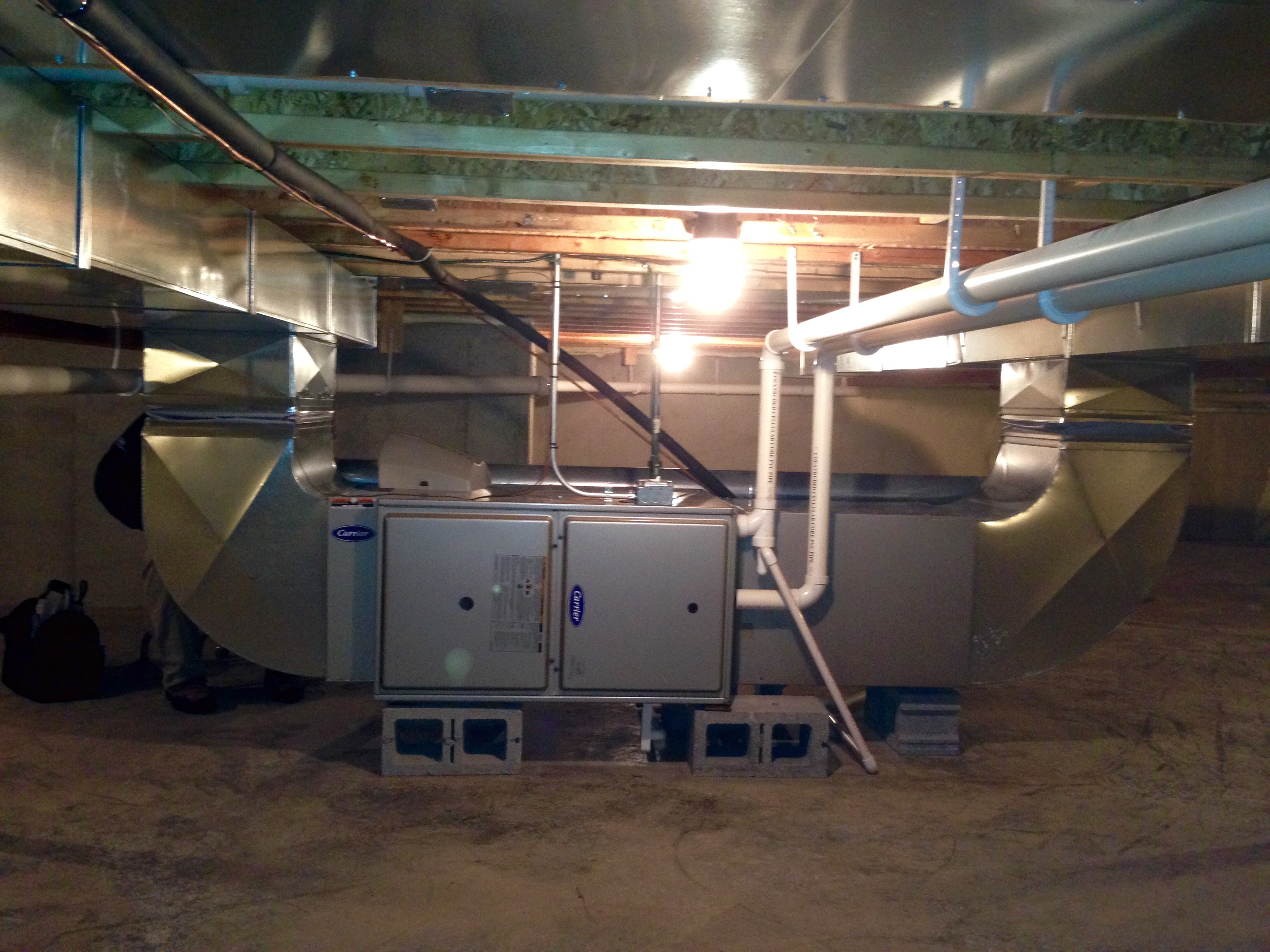 Horizontal Furnace Replacement