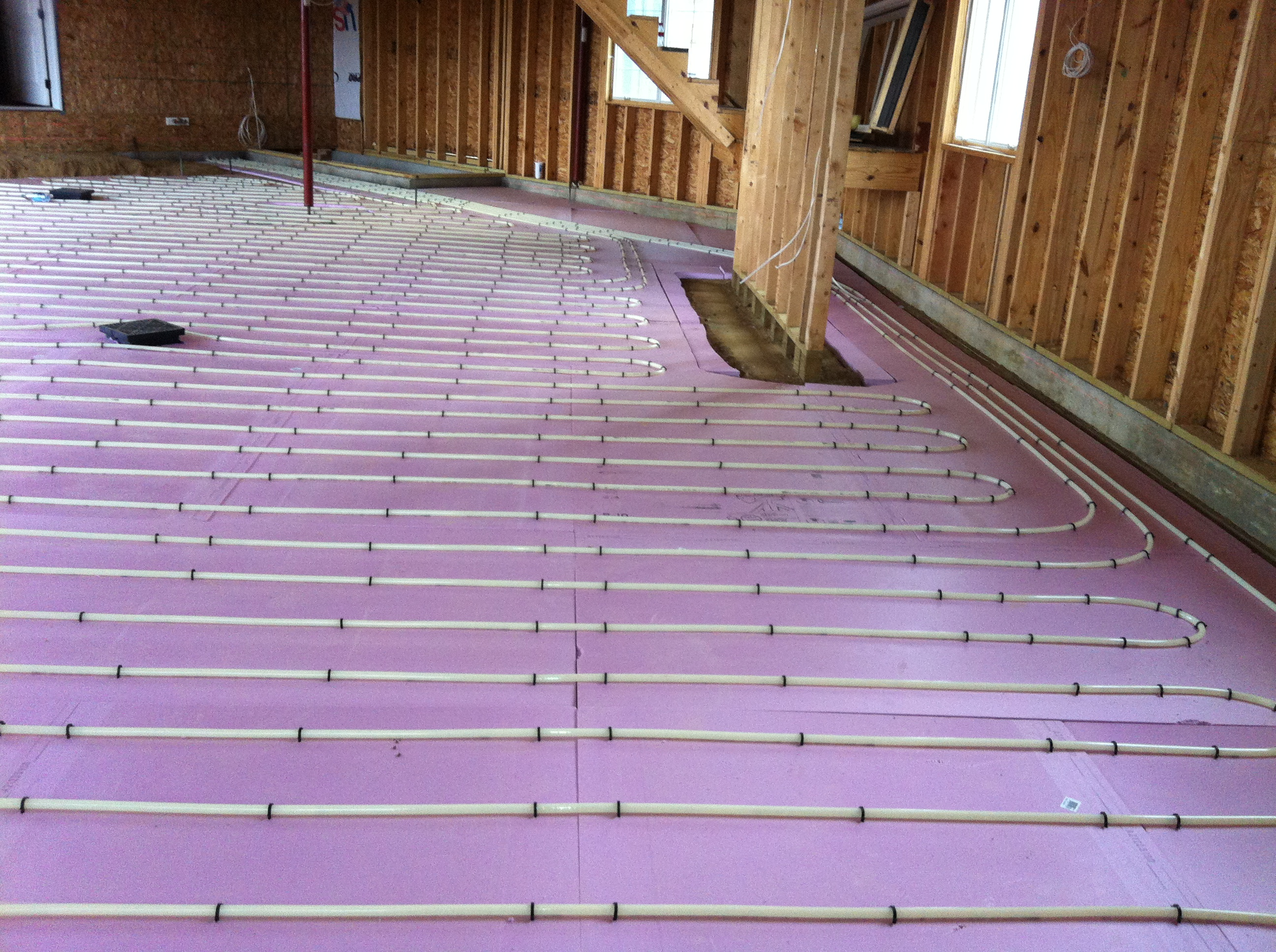 Professional Radiant Floor Heating Installation