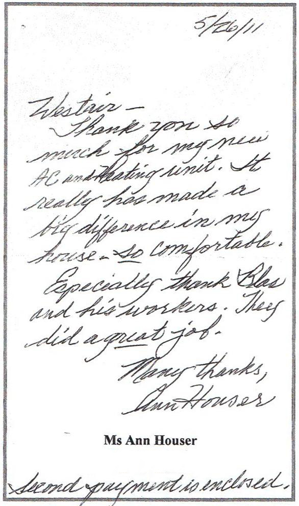 Ann Houser review