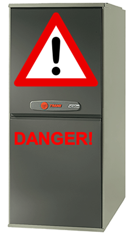Dangers of a gas furnace
