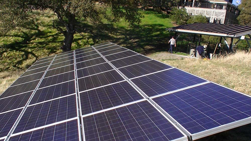 Ground Based Solar Installation